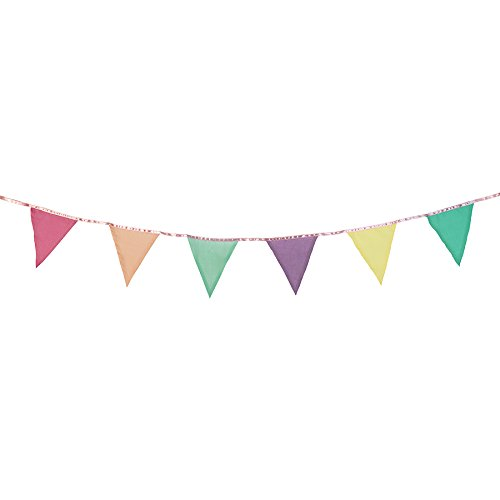 (Talking Tables Decadent Decs Hanging Bunting Banner (10 Ft.) for a General Celebration, Multicolor)