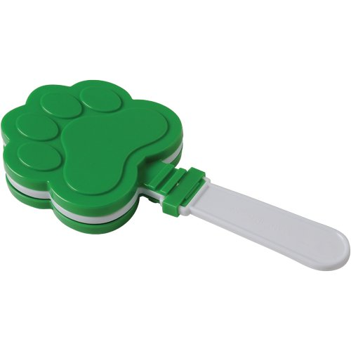 DollarItemDirect Pawprint CLAPPERS - Green , Sold by 11 Dozens