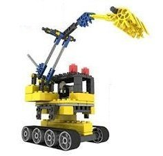 Excavator Engineering Electrical Toy 98pcs Assembly Building Blocks Building Set, Build Your Dream Toy Unique 3-D Design Connects Together From All Sides And Are Sturdy Enough To Play