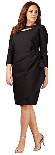 Soirées Alex Taille Plus 434166 Noir Robe
