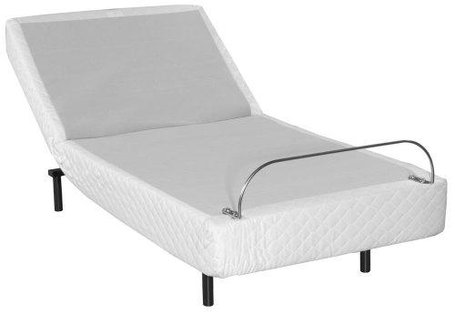 product reviews buy basis c3 headboard hugger adjustable bed twin xl base only. Black Bedroom Furniture Sets. Home Design Ideas