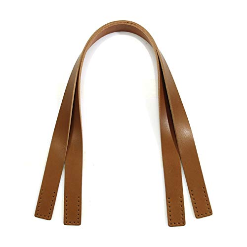 "24"" byhands Natural Rawhide Genule Leather Shoulder Bag Straps/Purse Handles, Tan (40-4125)"