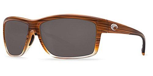 Costa Del Mar Mag Bay Sunglasses, Wood Fade, Gray 580P Lens