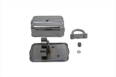 V-Twin 42-0318 Universal Chrome Spark Plug Holder With Clamps