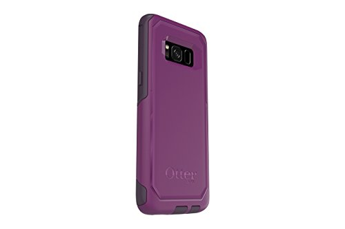 OtterBox COMMUTER SERIES for Samsung Galaxy S8 - Retail Packaging - PLUM WAY (PLUM HAZE/NIGHT PURPLE)
