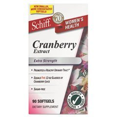 Schiff Extra Strength Cranberry Extract,500 mg,90 Softgels by SCHIFF (Schiff Cranberry)