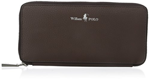 bf6c577f23 William POLO Men's Genuine Leather Long Purse Mens Zip Around Wallet Money  Clip - Buy Online in UAE. | Apparel Products in the UAE - See Prices, ...