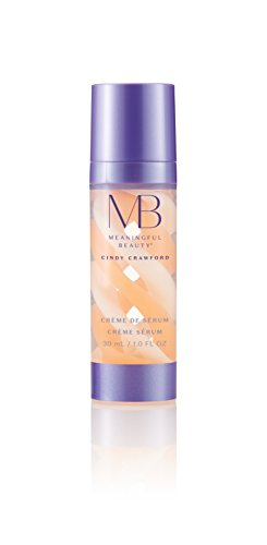 Meaningful Beauty – Crème de Serum – Melon Extract Night Moisturizer – 1 Ounce – MT.0353