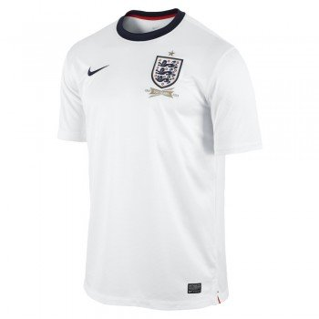 - Nike England SHORT SLEEVE HOME REPLICA JERSEY (FOOTBALL WHITE) (L)