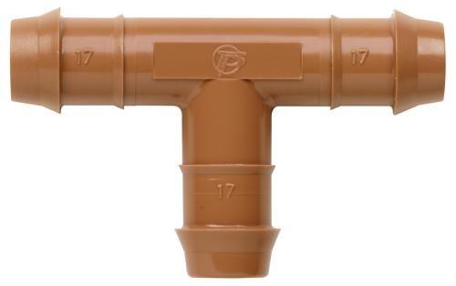 Netafim Hydro Flow 17 mm Insert Tee (25/Bag)