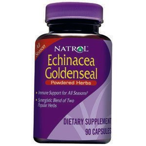 Natrol Echinacea/Goldenseal Capsules, 200-Count