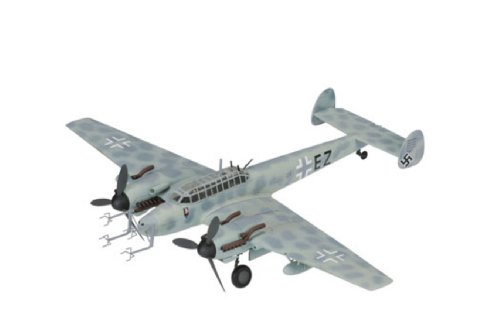 1/72 メッサーシュミット Bf110G-4 12/NJG1 ヴォルフガング・シュナウファー中尉機 1944年2月 「WW II(LIMITED EDITION)シリーズ」AA38502
