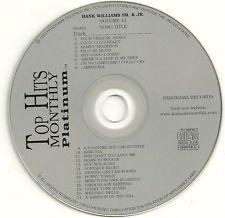 Top Hits Monthly CD+G Karaoke Platinum Series Volume 11 Hank Williams Sr & Hank Williams Jr ()