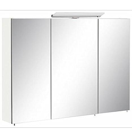 Specchio Bagno Bianco.Levi Moebel Armadietto A Specchio Bagno Mobile Bagno Bianco Opaco