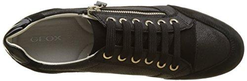 Black Sneaker Geox Damen D Schwarz A Myria ffBYq0