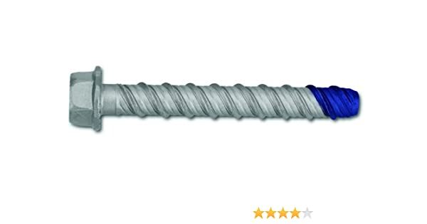 Powers Fastening Innovations 01316 3//8-Inch by 6-Inch SDS-Plus Blue Carbide Wedge-Bit 1 Per Box