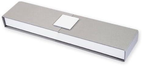 Caja imantada para pulsera 22,5x5x2,5 cm cm Gris/Blanco x1: Amazon ...
