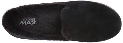 supply online buy cheap get to buy Skechers Women's Go Step Lite-Fuzzies Loafer Flat Black cheap huge surprise for cheap kgGVE0