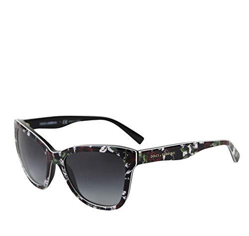 Dolce & Gabbana Kids Cat eye Red Rose Flower Print Sunglasses DG 4237 ()