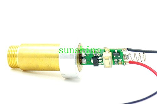 High Power 1W 445nm Blue Laser Module 1000mw w/ Heatsink & 6.7V~7.5V by sunshine-electronics