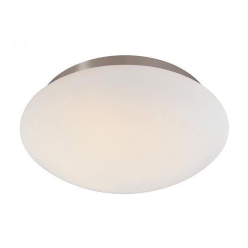 - Sonneman 4153-13 4153.13 Traditional Two Light Surface Mount from Mushroom Collection in Pwt, Nckl, B/S, Slvr. Finish, 12 1/2