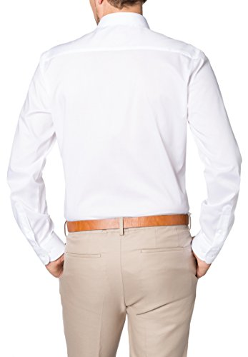 ETERNA long sleeve Shirt SLIM FIT Stretch uni