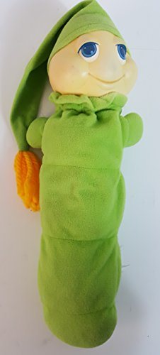 Glo Worm 1982 Hasbro Playskool Vintage Light-Up Plush Toy