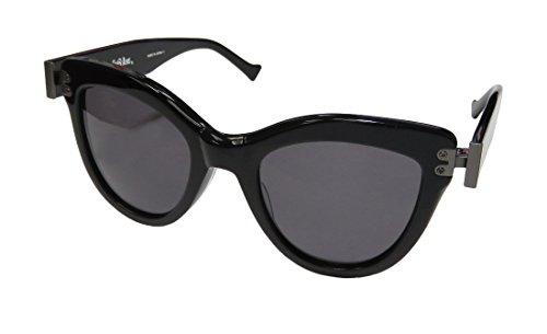 Grey Ant Diskov Womens/Ladies Cat Eye Full-rim 100% UVA & UVB Lenses Sunglasses/Sun Glasses (49-23-152, Black / - Grey Sunglasses Ant