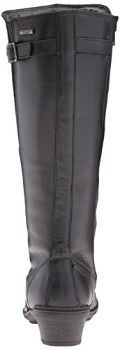 Rockport Cobb Hill Women's Cobb Hill Rayna Wide Calf Rain Boot, Black, 9 W US by Rockport (Image #2)