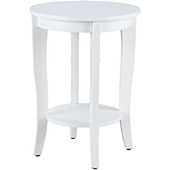 Charmant Convenience Concepts American Heritage Round Table, White