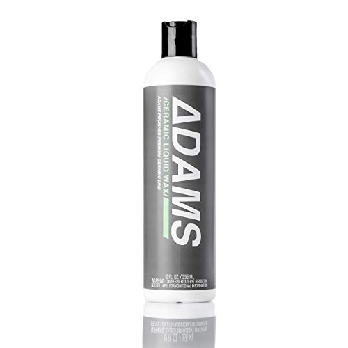 Adam's Ceramic SIO2 Infused Liquid Wax - Clean & Boost The Ceramic Nano Paint Protection of Boat, RV, Truck & Motorcycle - Hydrophobic Top Coat Sealant to Extend The Life of Ceramic Coatings (12 oz)