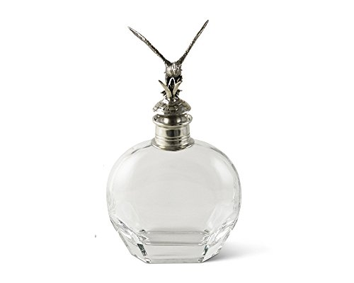 Vagabond House Pewter Flying Duck Liquor Decanter - Wide 10