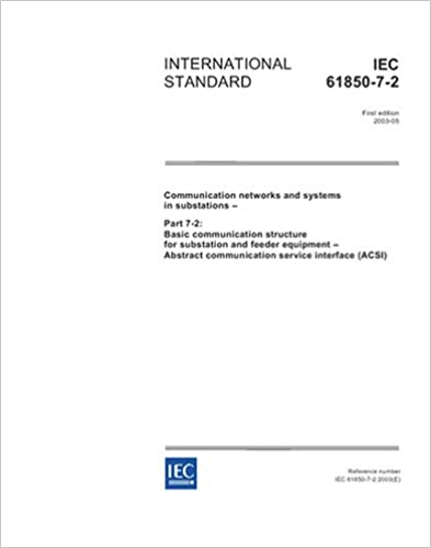 Amazon.com: IEC 61850-7-2 Ed. 1.0 en:2003, Communication ...