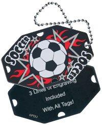 Soccer Bag Tag - 3