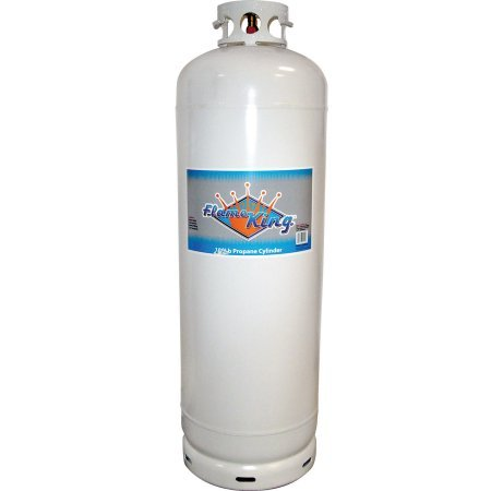 Flame King YSN-100 100 lb Propane Cylinder With POL (DOT approved)
