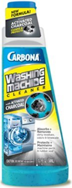 CARBONA WASHING MACHINE CLEANER WITH ACTIVE CHARCOAL (PACK OF 4)