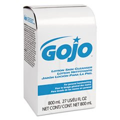 GOJO INDUSTRIES 9112-12 800ml Bag-In-Box Lotion Hand Soap Skin Cleanser