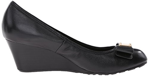 Black Wedge Cole Bow Tali Pumps Haan Grand Women's 8wwqW0PX