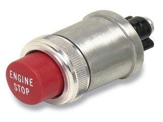 Cole Hersee 90048 Momentary Engine Stop Switch - Inchl 12 Brackets
