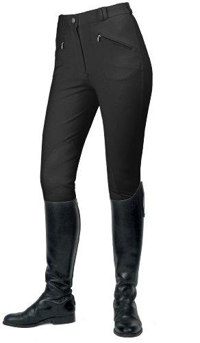 Western Plant Health Association - Pantalones de hípica para mujer Negro (Black)