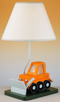 Bulldozer w/ Night Light Lamp