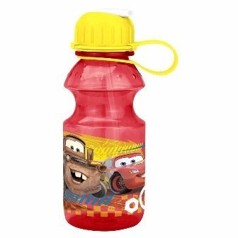 Zak Design Disney Cars CASU-K870 14 Oz Tritan Water Bottle - Pack Of 3 by Zak Designs Disney Cars