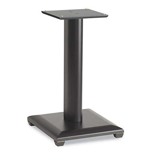 Sanus NF18B Natural Foundations 18'' Speaker Stand - Pair (Black Lacquer) by Sanus
