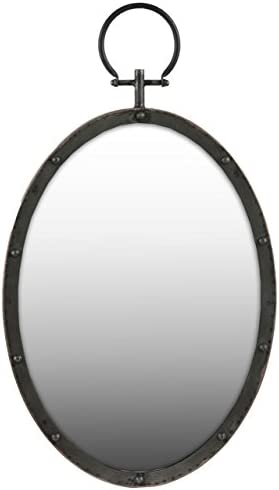 Editors' Choice: Urban Trends Metal Oval Wall Mirror