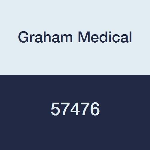Graham Medical 57476 Spa Essentials Nitralon Glove, Medium, Blue (Pack of 1000)