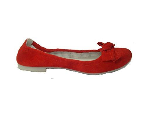 Nero Giardini Junior , Ballerines pour fille Rouge rouge -
