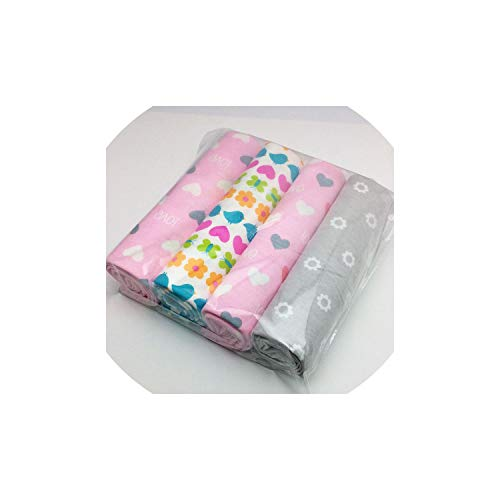 Baby Blanket Cotton Flannel Receiving Baby Blanket Newborn Colorful Baby Bedsheet Supersoft Blanket 76X76Cm,A09