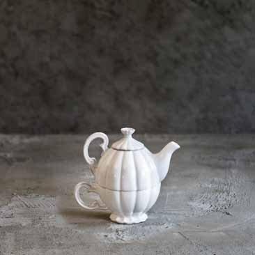 """Rituali Domestici Tea for One in ceramica bianca collezione """"Eccomi"""" Prezzi"""