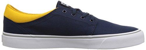 TX Trase Unisex Skate Navy DC Shoe Men's Yellow 5EqB5pU