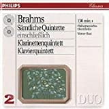 Brahms: The Complete Quintets, Opp. 34, 88, 111, 115